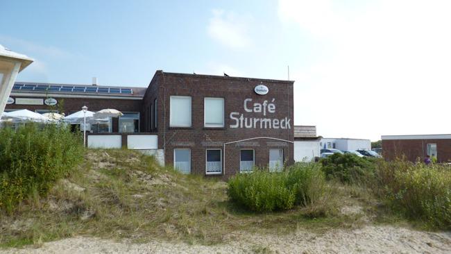 Cafe Sturmeck auf Borkum