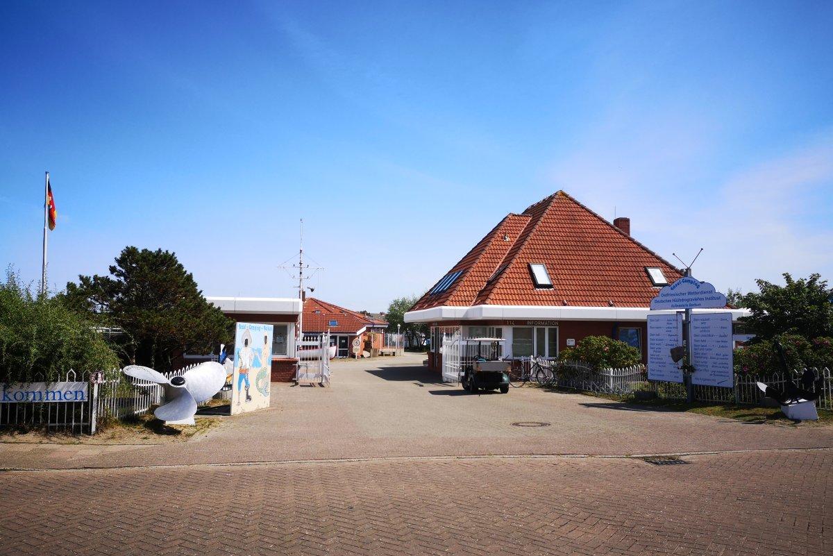Campingplatz auf Borkum