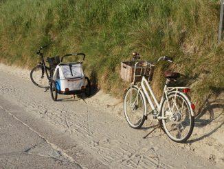 Fahrräder auf Borkum
