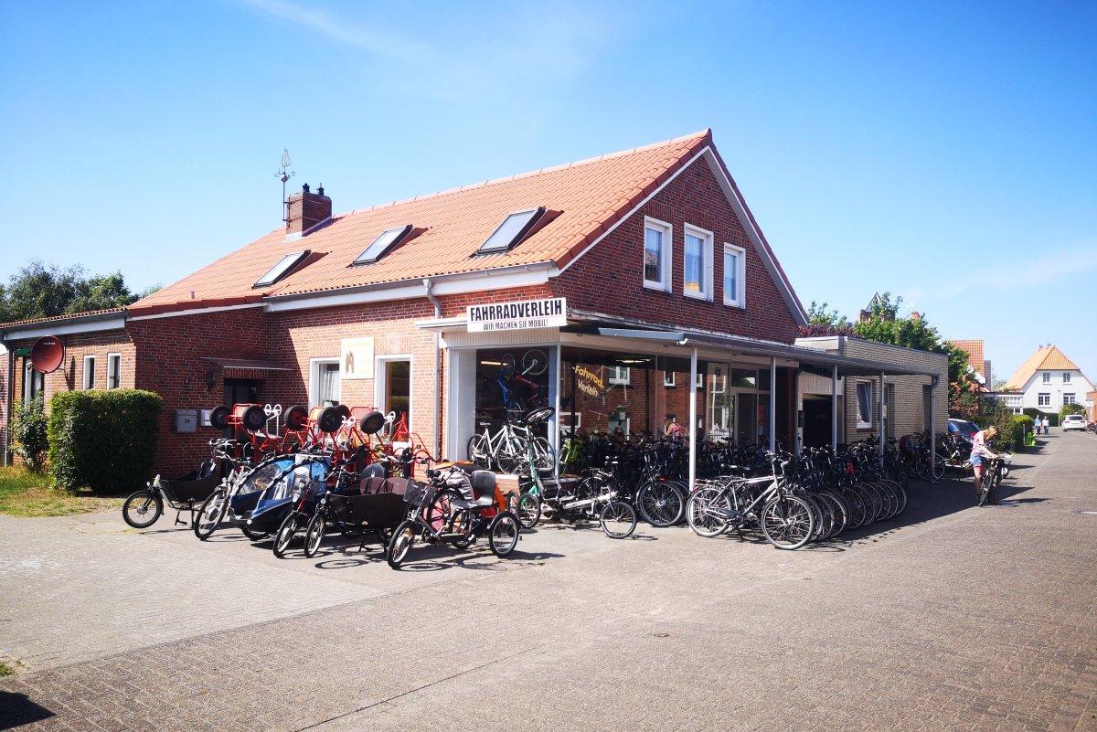 Fahrradverleih Borkum