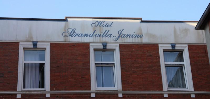 Fassade Hotel Strandvilla Janine