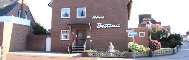 Ferienwohnung Borkum - Haus Bettina