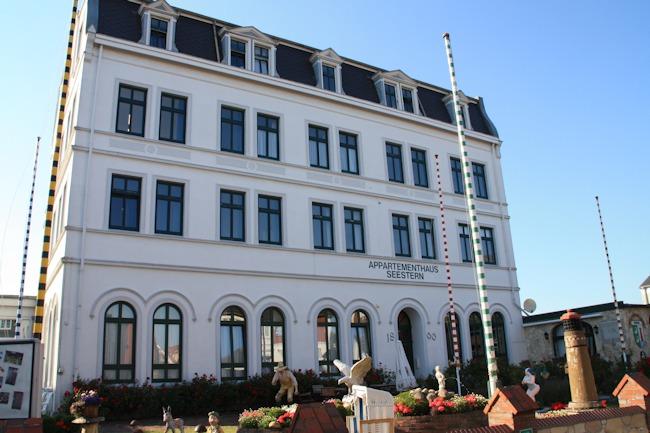 Appartementhaus Seestern auf Borkum