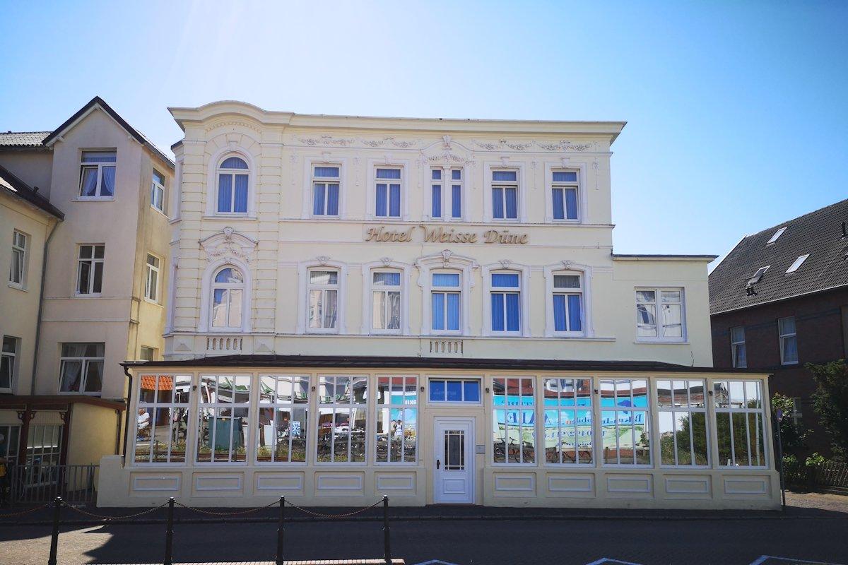 Hotel weiße Düne Borkum