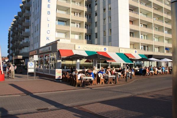 Hotels auf Borkum - Meerblick auf Borkum