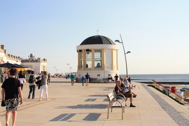 Konzertkapelle auf Borkum am Strand