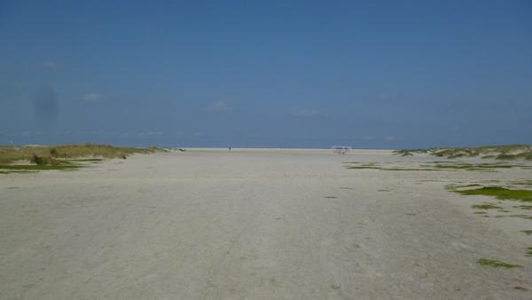 Sandstrand Borkum nähe FKK Strand