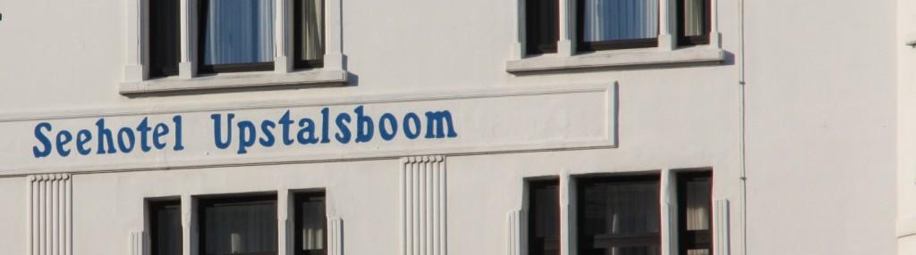 Schriftzug Seehotel Upstalsboom