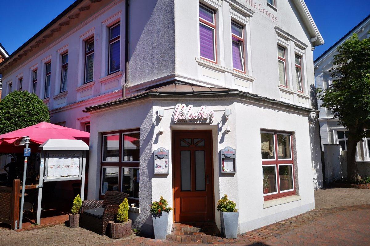 Restaurant Valentins auf Borkum