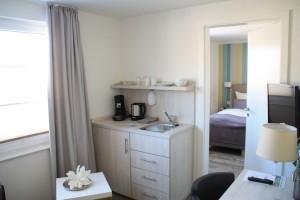Ferienwohnugn auf Borkum mit guter Ausstattung und modern eingerichtet